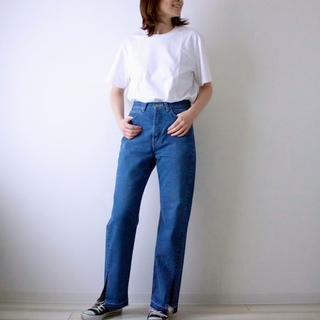 【モデル竹下玲奈さん&Lee】コラボ第一弾♡デニムを履いてみた