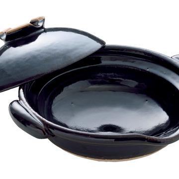 2.圡楽の「口付黒鍋」