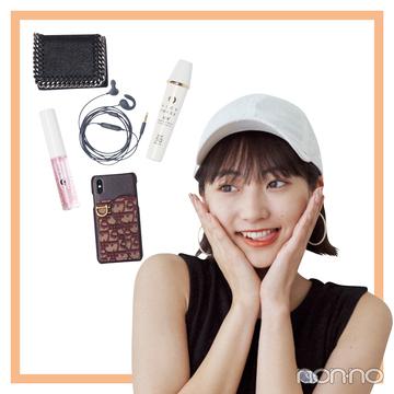 武田玲奈のバッグとスマホの中身を大公開!