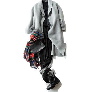 スタイリスト福田麻琴さんの「ちょっとモードな冬のマイ定番スタイル」