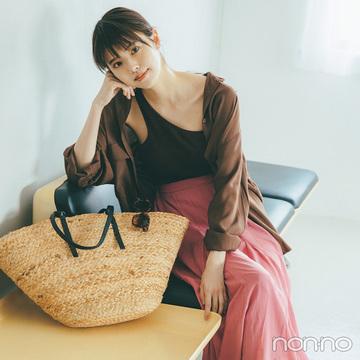 リラクシーなシャツ&スカートで女っぽさ香る夏スタイル【毎日コーデ】