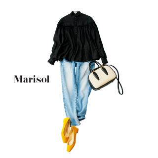 きれい色の靴が主役の春コーデ20選。着こなしに華やかさをプラスして