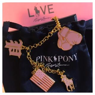 ラルフローレン 乳がん啓発活動「PINK PONY 」
