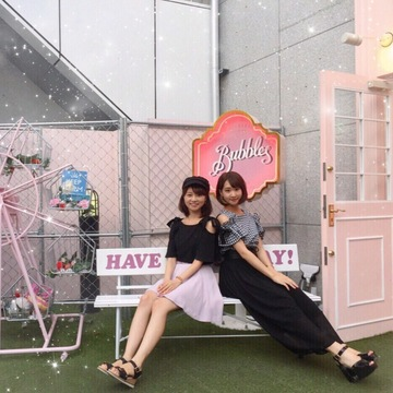 【 第55回❤︎ 】表参道 原宿カフェ&フォトスポット巡り!with菜美子ちゃん*