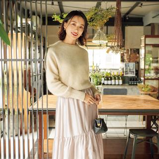 「ツヤ」で、心華やぐきれいめ服。1点投入で冬スタイルがもっとおしゃれに、楽しくなる!