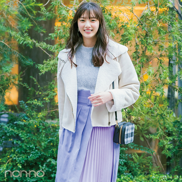 フェミニン派・新川優愛の春新作スカート★今→春1×3!【着回しコーデ】