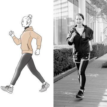 50代ウォーキングで若返り「インターバル速歩」で体も心も健康に!
