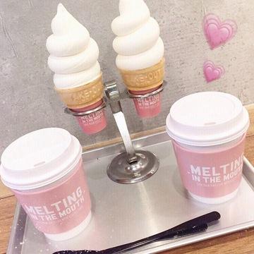 Vol.5♡ 可愛すぎるソフトクリームのカフェ「MELTING IN THE MOUTH」が大人気♪