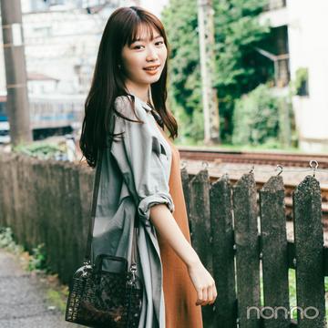 2019秋トレンド★ ブラウン~カーキのシャツワンピ、これだけ着回せる!