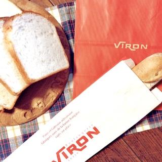 """私の幸せパン。""""VIRON""""「 バゲットレトロドール」"""