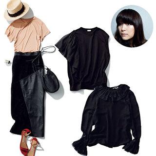 エディター 須藤由美さん「シンプルな黒はもう卒業! ドラマティックな黒に軸をシフト」