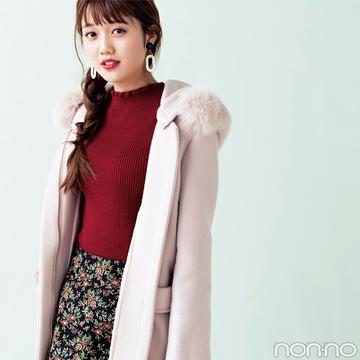 絶妙ピンクにキュン♡REDYAZELのファーコートが主役級の可愛さ!