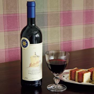 シルキーな飲み口がさりげなく優美さを物語る「グイダルベルト」【飲むんだったら、イケてるワイン】