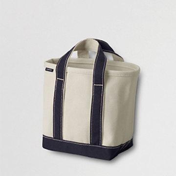 ワンマイルバッグに、ランチトートに、使い方自由自在♥ランズエンドの小さめトートをプレゼント