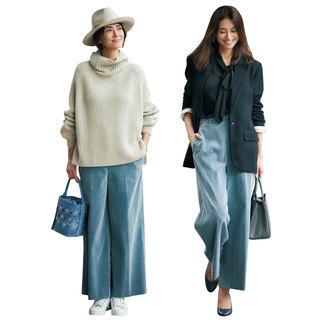 「女っぷりシンプル派」のための冬パンツはこれ!