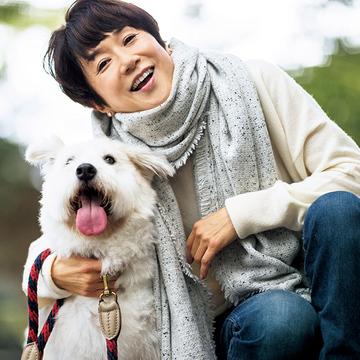 お手本にしたい、アイテム選びとバランス感! 黒田知永子さんの冬のお散歩カジュアル
