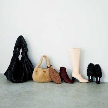 靴やバッグは遊び心のあるキャッチ―さが今シーズンの気分【村山佳世子の10着に似合うインパクト小物】