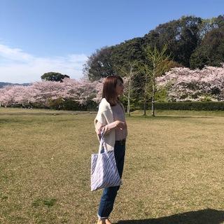 桜満開!お花見コーデ