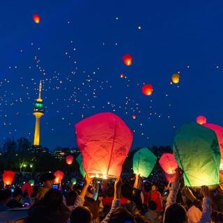 願いを風灯に乗せて。 幻想的な大邱ランタンフェスティバル