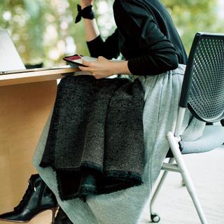 ■あれこれ隠せるスカートであったかテクをおしゃれにカバー