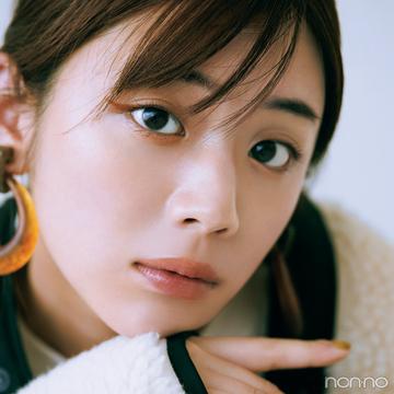 今季人気のボアには、オレンジのアイラインがマスト♡【今日着る服×旬色メイクであか抜ける!③】