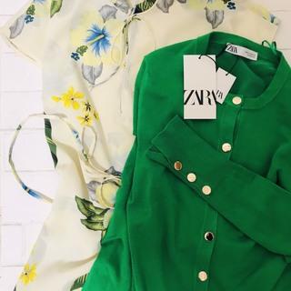 ZARAの春服は華やぎグリーンと花柄がイチ押し
