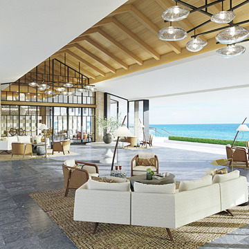 1.美しい海岸線沿いに世界レベルの楽園ホテルが開業