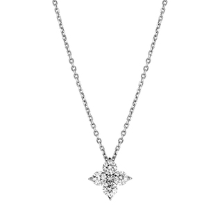 ダイヤモンドネックレスをプレゼント!