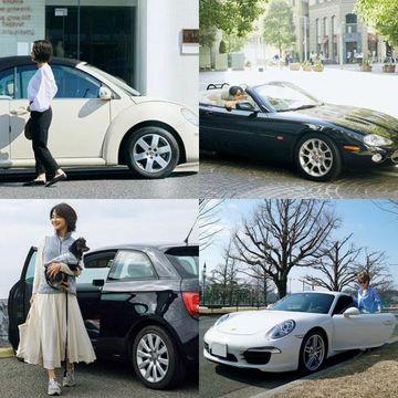 おしゃれなアラフィー女性が乗っている『センスのいい車』