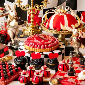 「アリスinハロウィーン・トリック」デザートビュッフェを3組6名様にプレゼント♡