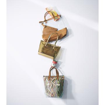 【しゃれ見えマーケットバッグ】「PVCバッグ」で夏は涼やかにクリアな質感を楽しむ