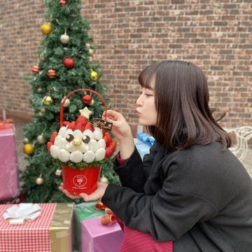 クリスマスパーティーに大活躍❤︎フルーツブーケが主役で決まり!
