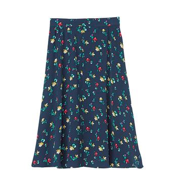 【ITEM02】小花柄スカートで1×2