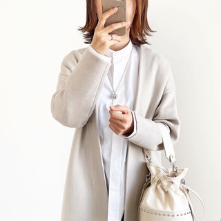 『UNIQLO+J』スタンドカラーシャツ着回し【tomomiyuコーデ】