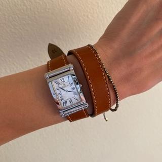フランス発の着せ替え時計でブラウンコーデ☆_1_2