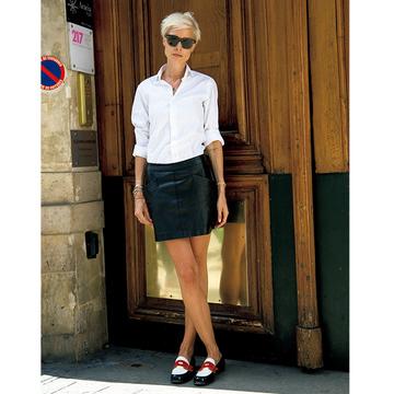 年齢と個性がおしゃれを磨く! パリ&ミラノの夏マダムSNAP 五選