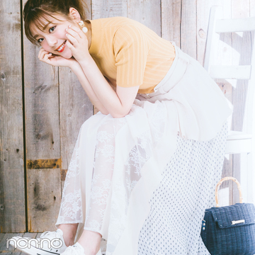 貴島明日香の好感度が高いワケ★ スニーカーコーデのルールを教えて!