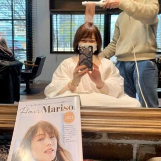 HairMarisolを参考にヘアカットしました♪_1_1