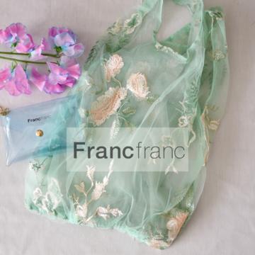 フランフランの新作エコバッグは、おしゃれなチャームポーチ付き!【Francfranc】