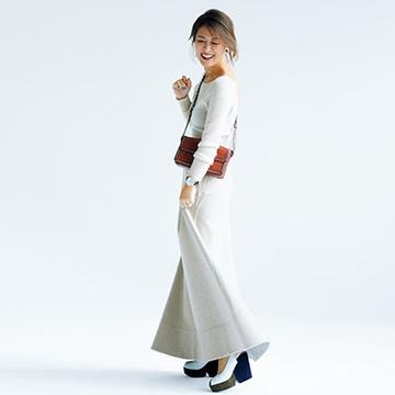 丈の長いスカートやワイドパンツの攻略法が知りたい!【大草直子のファッション相談室】