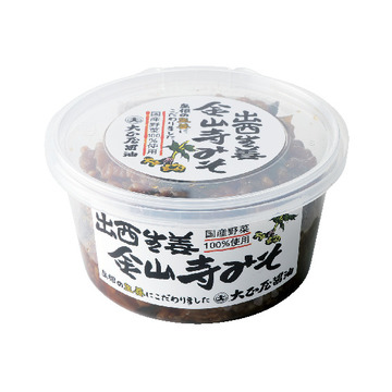 3.「大正屋醤油店」の出西生姜金山寺みそ
