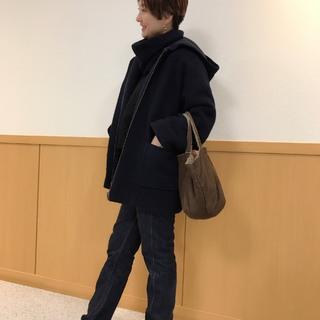 自分に似合うショート探し コートの季節こそ短めがいい感じです_1_4