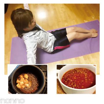 専属読モ・中谷彩伽さんの体幹トレーニング2週間レポート