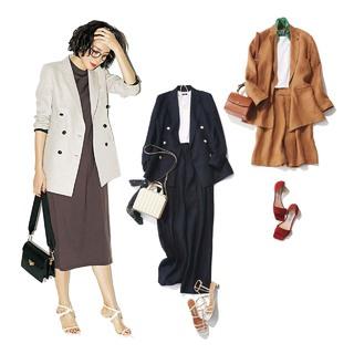 40代のための最新ON&OFFジャケットコーデまとめ|アラフォーファッション