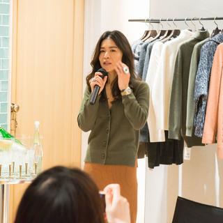 スタイリスト辻直子さん登場! Marisol×ROPÉのトークショーが開催されました。