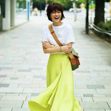 富岡佳子、夏の私服 photo gallery