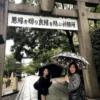 ゆき・もも・めるも散歩@京都~その2♪