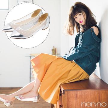 この春使える! 部分透けパンプス☆靴下コーデも見られる5通り着回し&最新カタログ8選!