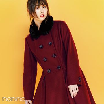 アニエスベーの1枚で映えるコート3選★【2018秋冬コート】