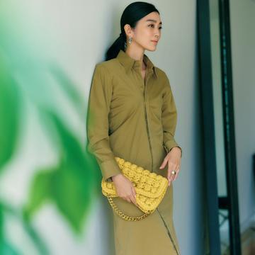 ボッテガ・ヴェネタの新作はクロシェ×イエローで春気分【春ファッションが見違える主役バッグ】